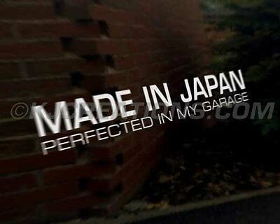 MADE JAPAN JDM Japanese car decal sticker Subaru Suzuki Toyota Yamaha Kawasaki