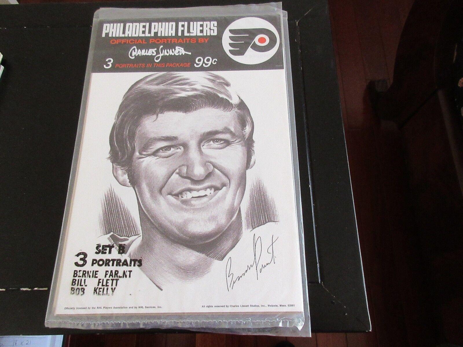 Philadelphia Flyers ,Official Portraits by Charles Linn