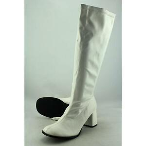 6221253e05e Funtasma by Pleaser Gogo-300 Wide Calf Women US 11 White UK 8 Blemish 3005
