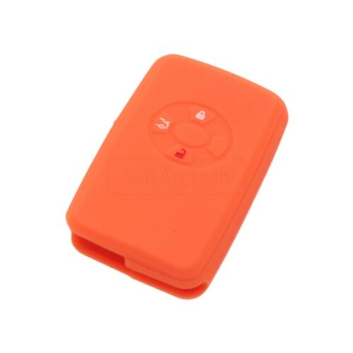 Silicone Cover fit for TOYOTA Camry Corolla Reiz Yaris Smart Remote Key 3 B 9401