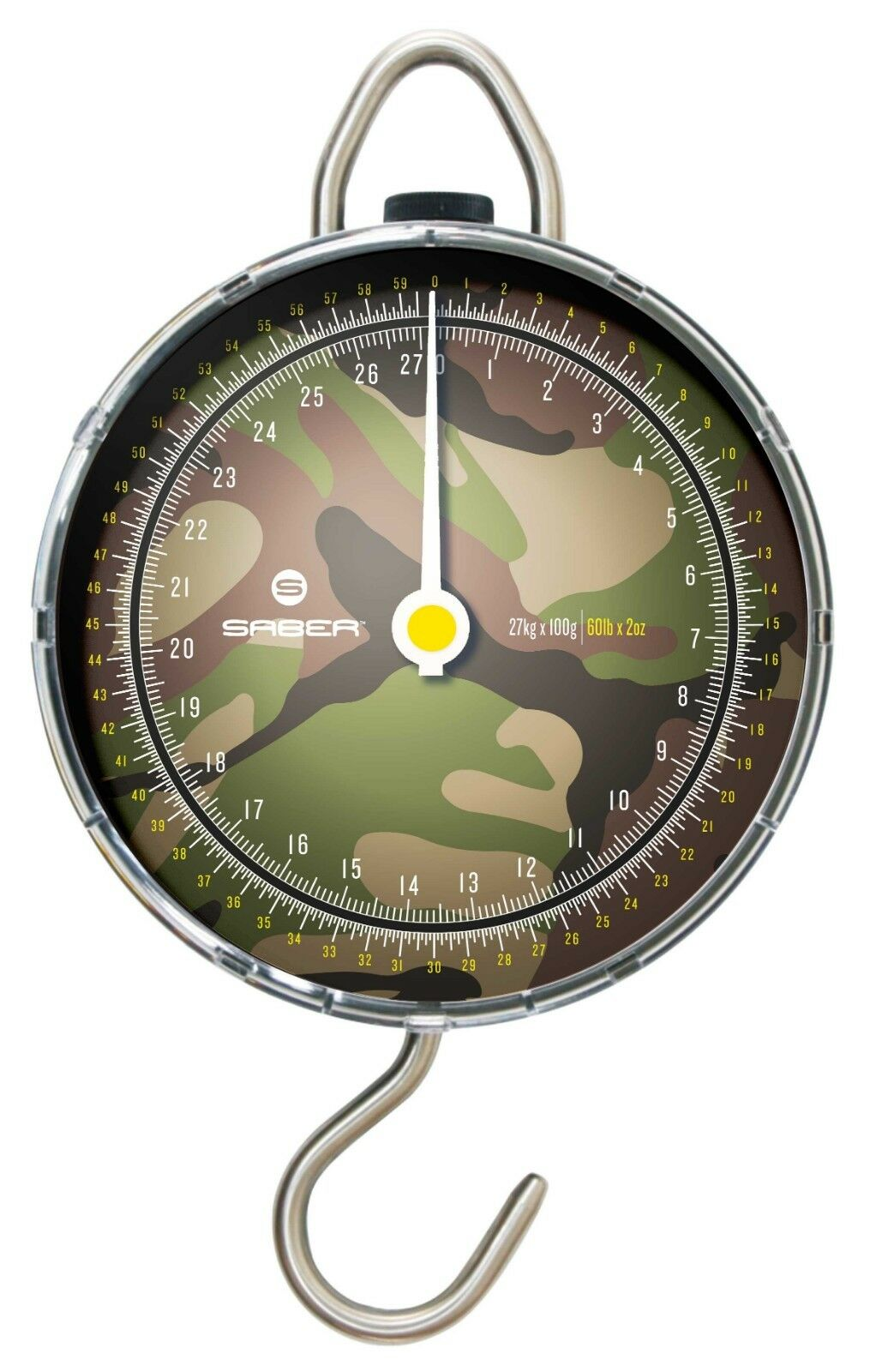 Saber DPM 60lb Dial Scales NEW Carp Fishing Weighing Scales
