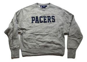 G-III 4 Her By Carl Banks Womens NBA Indiana Pacers Sweatshirt NWT M
