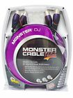 Monster Cable ProLink M DJ-X-2M DJ Cables - XLR Male to XLR Female Pair - 6 Ft