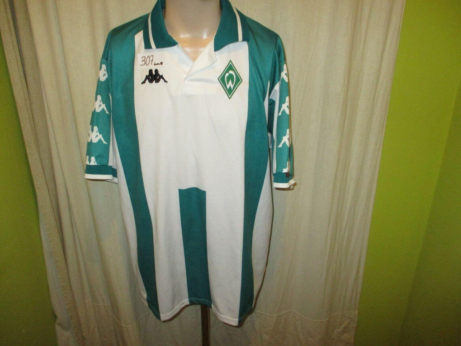 Werder Bremen Original Kappa Heim Trikot 2000 01  ohne Hauptsponsor  Gr.XXL TOP