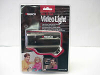 Ambico Cordless Model V-8810 Mini 10 Watt Video Light For Camcorders
