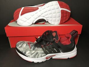 0e1e6fbe3 Image is loading NEW-Nike-Air-Presto-Print-Gym-Red-Wolf-