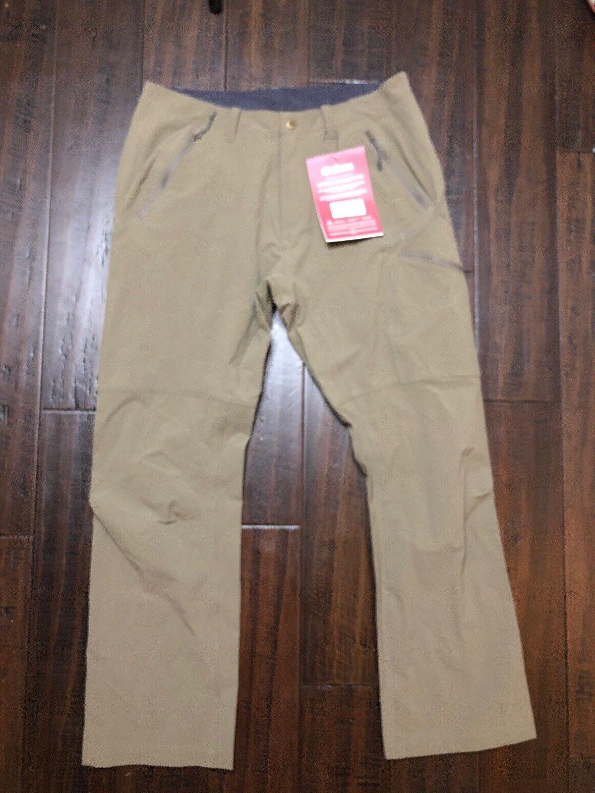 Sherpa Kumba Pants Mens 092 Saang Brown Size 32 Short NWT