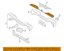 GM OEM Rear Bumper-Step Pad Protector Scratch Guard Cover 15790500