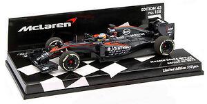 Minichamps Mclaren Honda Mp4-30 # 14 Gp Britannique 2015 - Fernando Alonso 1/43 Échelle 4012138132597