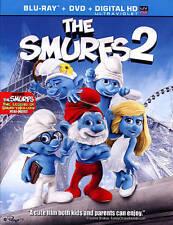 The Smurfs 2 (Blu-ray/DVD, 2013, 2-Disc Set, Includes Digital Copy UltraViolet)