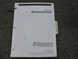 1994 Jaguar XJS Coupe Convertible Electrical Wiring ...