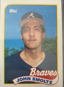 1989 JOHN SMOLTZ #382 RC Rookie MINT Atlanta Braves HOF