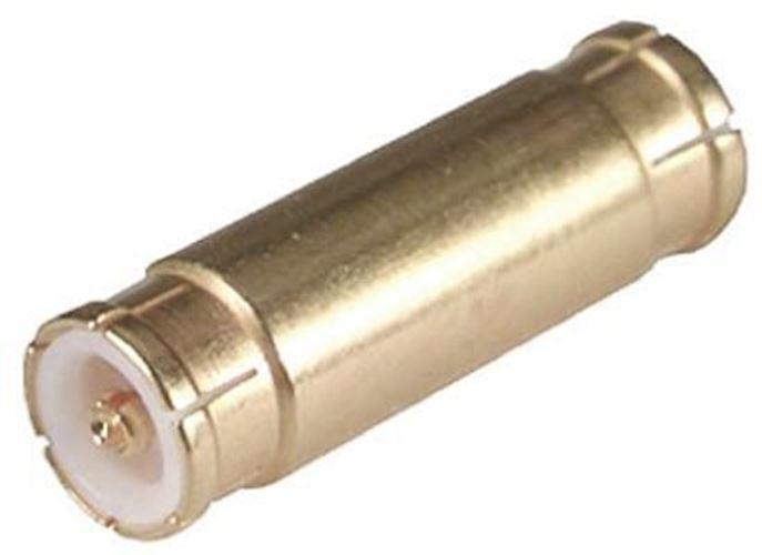 Straight 50Ω RF Adapter MMBX Plug to MMBX Plug 12.4GHz