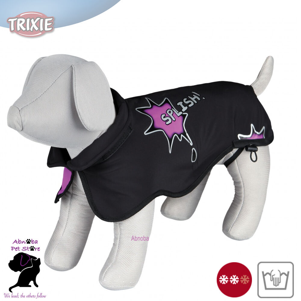 Trixie Avallon Coat softshell fleece lining windproof breathable dirt resistant