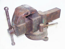 Columbian 603 12 Machinist Bench Vise With M On Swivel Base 33 Lbs 105 Oz Usa