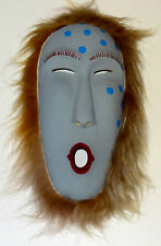 Jim Miller, Two Worlds, Original Carved Yellow Cedar Mask Painted with Acrylics