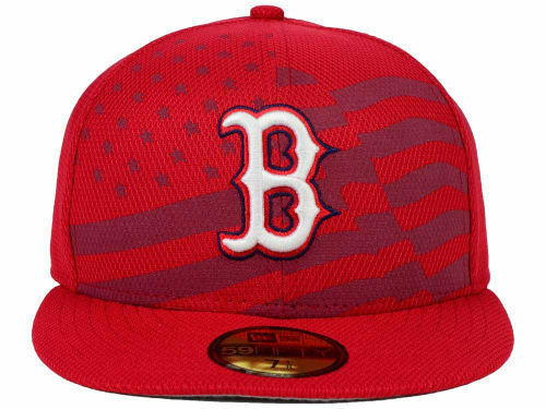2746933a7 Boston Red Sox Era 59fifty MLB July 4th Independence Day Cap Hat ...