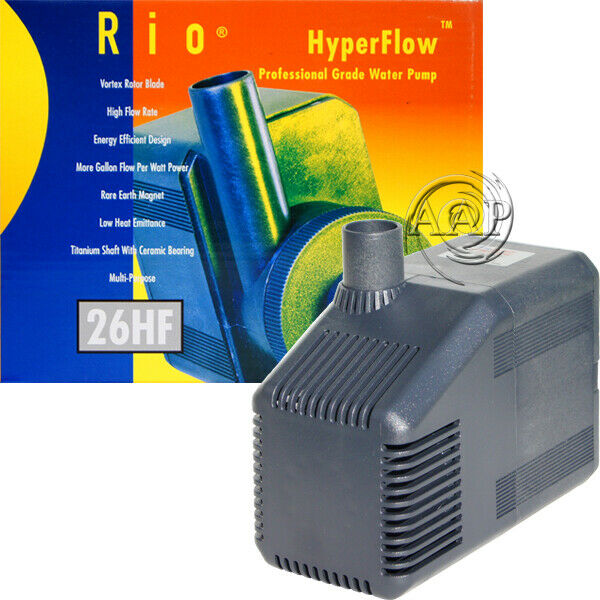 Rio 26 HF Water Pumps | Aquarium, Sump, Fountain, Pond |  AAPTaam Authorized