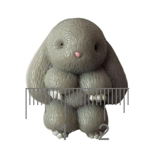 Lindo Kawaii Dorso Plano Cabujones Adorno De Resina De Conejo Decoden Craft 4 un