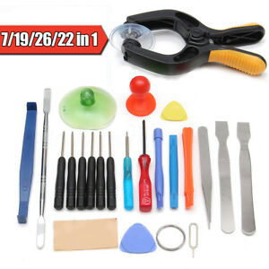 Telephone-LCD-Ecran-Outil-Pince-Tournevis-Ventouse-Pry-Spudger-Reparation-Kit