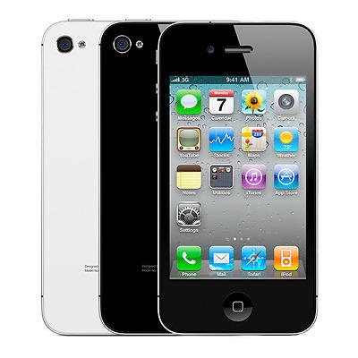 Apple iPhone 4S 64GB Verizon GSM Unlocked Smartphone Black & White