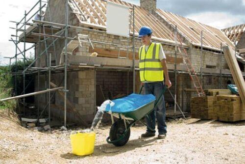 Wasserbehälter für Schubkarre 80 Liter Wasser Wassersack Wasser Faltsack 29382