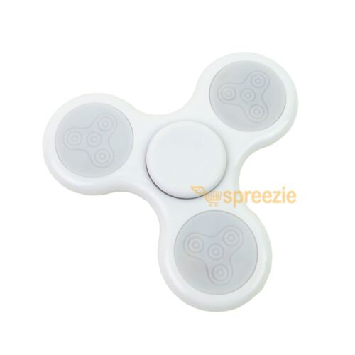 LED Light Up Fidget Spinner Hand Spinner Toy EDC Anxiety Stress Reliever ADHD