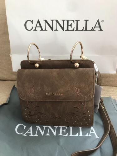 Tracolla Cannella Cuoio Con Nuova Borsa Donna Marrone Moro Etichetta fwZxRRdq