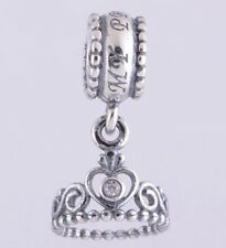 a034d5e91 item 4 MY PRINCESS TIARA Crown Cz Dangling Pendant Charm For Bracelets  Silver Plated -MY PRINCESS TIARA Crown Cz Dangling Pendant Charm For  Bracelets Silver ...