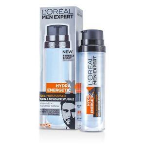 L-039-Oreal-Men-Expert-Hydra-Energetic-Skin-amp-Designer-Stubble-Gel-Moisturiser-50ml