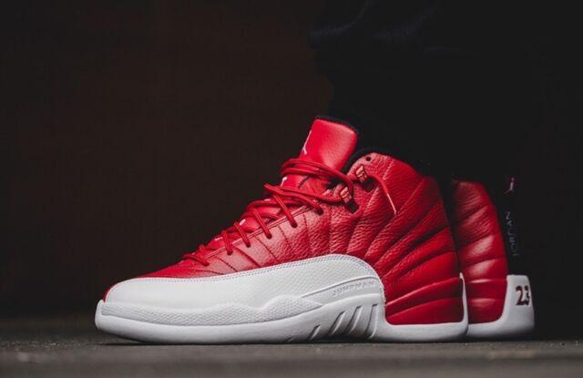 sports shoes 0ed57 81ef6 ... wholesale nike air jordan 12 retro gym red size mns 17 80235 9a945