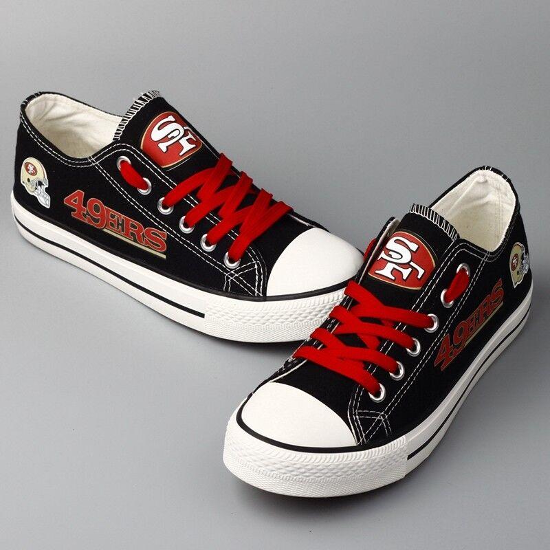 San Francisco 49ers 49ers 49ers SF Donna  Uomo scarpe da ginnastica scarpe Football NFL Limited Edition b4edac