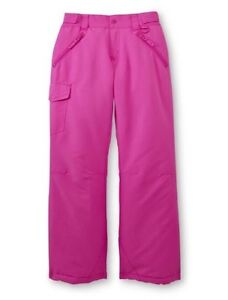 d2707c9b6be NEW Girls Canyon River Blues Bright Pink Waterproof Ski Snow Pants M ...