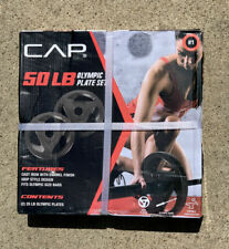 Black for sale online CAP OSH-50A Olympic Weight Plate Set