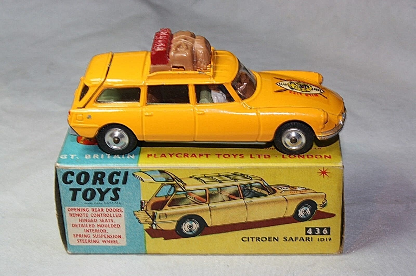 Corgi 436 citroen safari - 19, sehr guter zustand in original - box