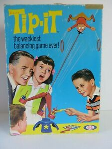 Vintage-1965-Ideal-Toys-Tip-It-Game-Replacement-Part-Balancing-Acrobat-1311