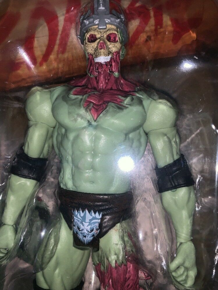 WWE WWF Zombies Triple HHH Action Figure Mattel Zombified Action Figure 1 12
