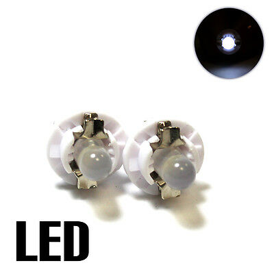 509t, U509TB LED Blanco 2x 12v Bombillas Panel de control XE5