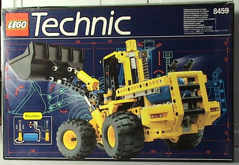 Lego Technic Costruzione 8459 Pneumatico Anteriore Terminale Caricatore