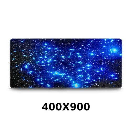 Extended Gaming Large Mouse Pad Galaxy Laptop 600*300mm Big Size Desk Mat UK