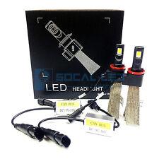 Fanless LED Headlight Kit H11 6000K Xenon White Canbus Conversion Fog Light Bulb