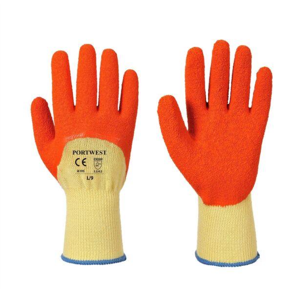 12 Paia Portwest A105 Impugnatura Extra Lattice Safety Abbigliamento Da Lavoro Piacevole Al Palato