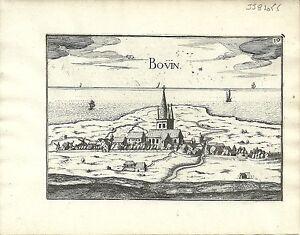 Antique map, Bouin