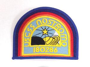 "ALIEN Movie-USSC Nostromo Officer Embroidered 4"" Patch- Light Blue (ALPA-60-ND)"