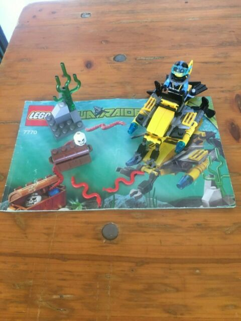 Lego 7770 Aqua Raiders, Deep Sea Treasure Hunter, Pre-Owned, Complete no box.