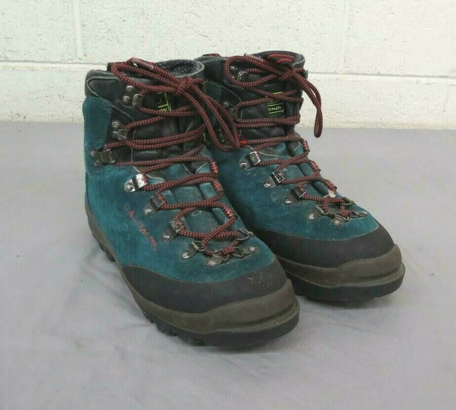 Salomon Super Mountain 8 HighQuality Teal Suede Leather Hire stivali 7.5 3913