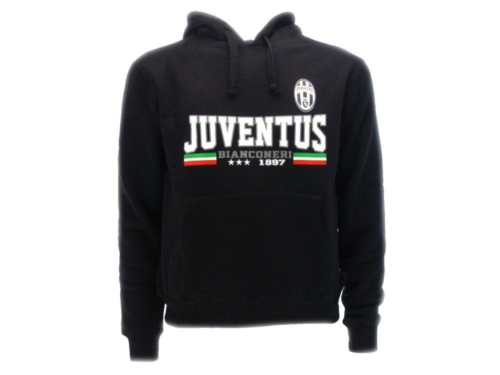 Felpa Juventus  Herren Con Cappuccio PS 24816 Abbigliamento Ufficiale Juve