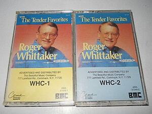 Roger-Whittaker-034-The-Tender-Favorites-034-2-Cassettes-CEMA-BMC-1990-USA