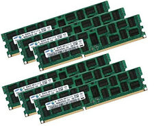 6x 8GB Samsung DDR3 1333 Mhz ECC REG M393B1K70CH0-CH9 Registered Server Memory