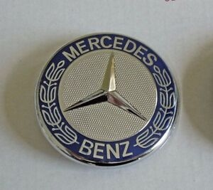 Mercedes benz hood emblem amg badge for w124 w140 w202 for Mercedes benz badges for sale